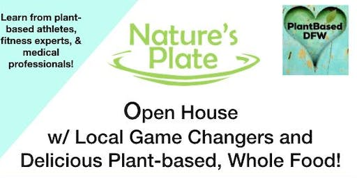 Nature's Plate Open House w/ Plantbased DFW