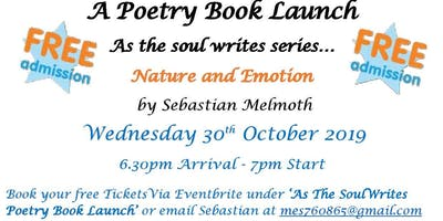 'As The Soul Writes'  Poetry Book Launch