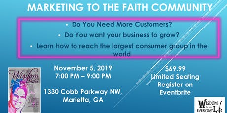 Marketing to the Faith Community tickets