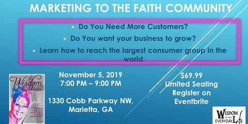 Marketing to the Faith Community