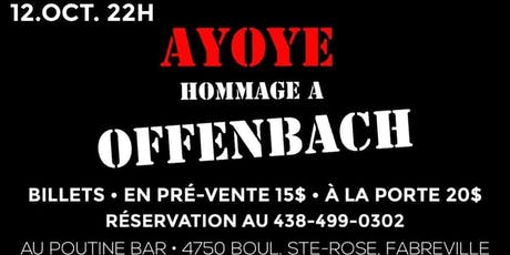 Hommage a Offenbach tickets