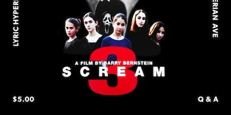 Scream 3 with Chase Bernstein tickets