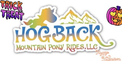 3rd Annual ***** or Treat @ Hogback Mountain Pony Rides