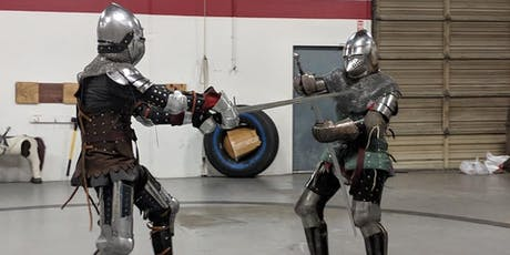Get Fit for The Iron Throne by Sword Fighting School at Backyard SJ tickets