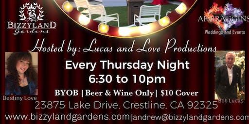 Bizzyland Gardens presents: Karaoke Night