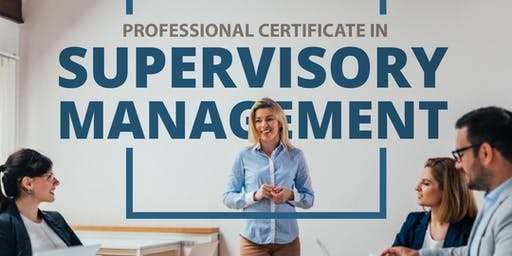 Professional Certificate in Supervisory Management(Introduction/Demo Class)