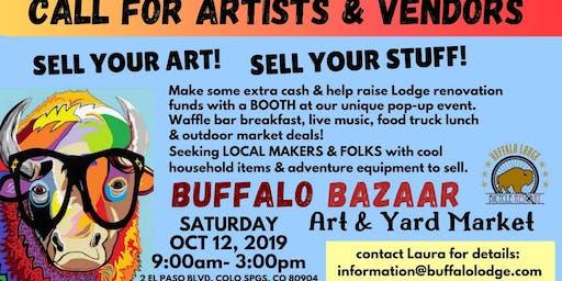 Buffalo Bazaar - Community Art & Yard Market