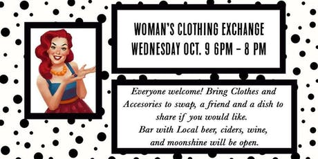 Woman's Clothing Exchange at the Buffalo Lodge Bicycle Resort tickets