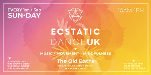 ECSTATIC Dance UK – SUN DAY