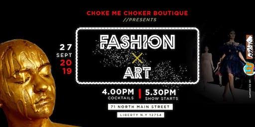"""Fashion Meets Art """"Fall Fashion Show"""""""