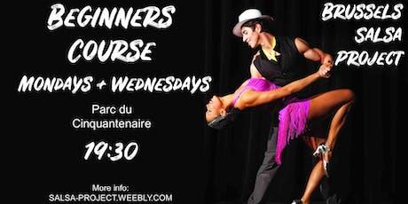 Salsa Beginners Course / Cours Débutants Salsa tickets