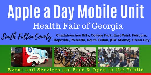 Apple a Day Mobile Unit Health Fair of Georgia
