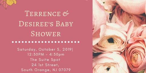 Terrence & Desiree's Baby Shower