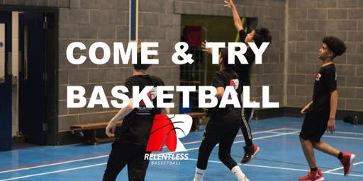 Come & Try Basketball(10-15yrs)