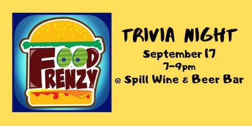 Food Frenzy Trivia