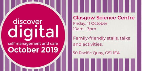 Discover Digital: self management and care (Glasgow) tickets
