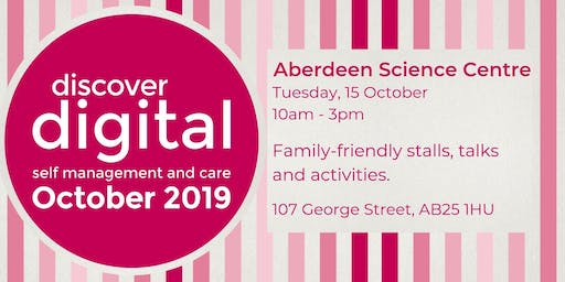 Discover Digital: self management and care (Aberdeen)