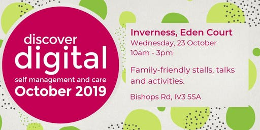 Discover Digital: self management and care (Inverness)