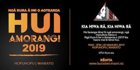 NKAI Hui Amorangi (2019 Student Leaders) tickets