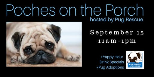 Pooches on the Porch-Pet Adoptions