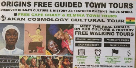 Cape Coast Free Walking Town Tour billets