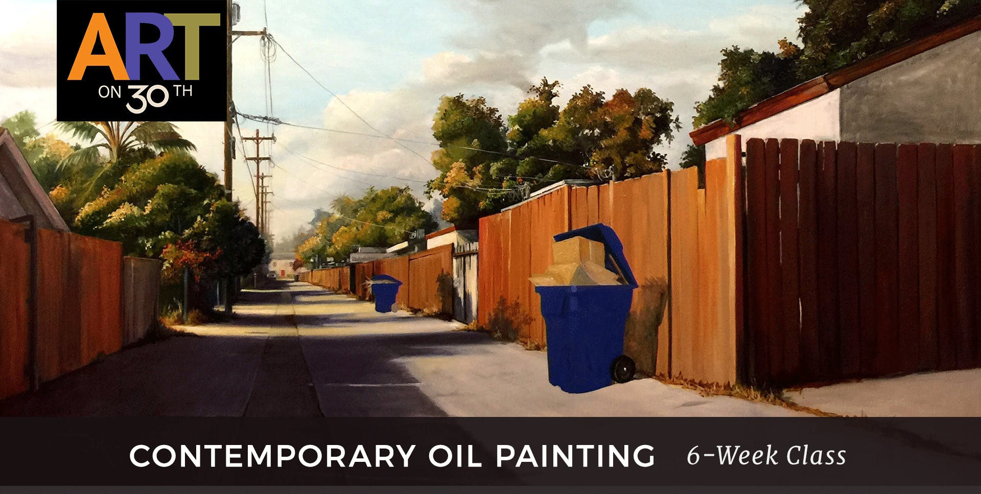 TUE - Contemporary Oil Painting with instructor Duke Windsor
