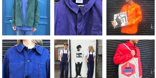 French Workwear Sale Stoke Newington as part of PopUpN16