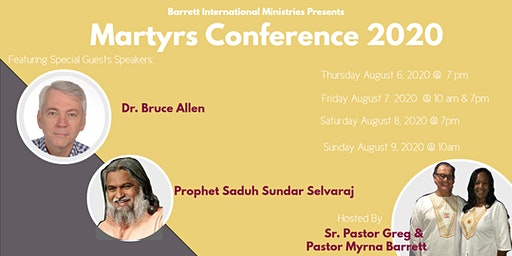 Martyrs Conference 2020
