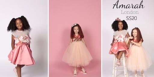 Amarah London  SS20 Collection| Kids fashion event