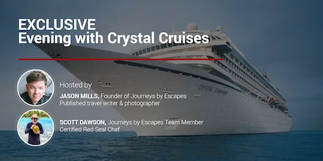 Exclusive Crystal Cruise Event Night tickets