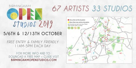 Birmingham Open Studios (Art) tickets