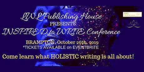 2019 LWL PUBLISHING HOUSE CONFERENCE - BRAMPTON tickets