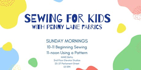 Learn To Sew For Kids tickets