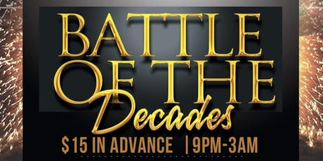 Battle of the Decades tickets