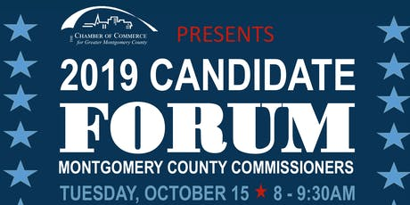 2019 Candidate Forum: Montgomery County Commissioners tickets