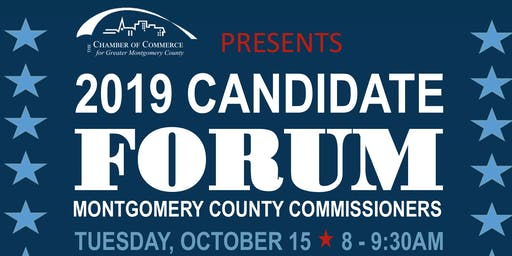 2019 Candidate Forum: Montgomery County Commissioners
