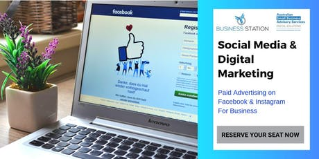 Facebook & Instagram Advertising (Gosnells) presented by Kasia McNaught tickets