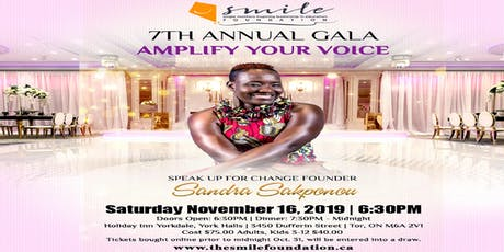 7th ANNUAL SMILE GALA tickets
