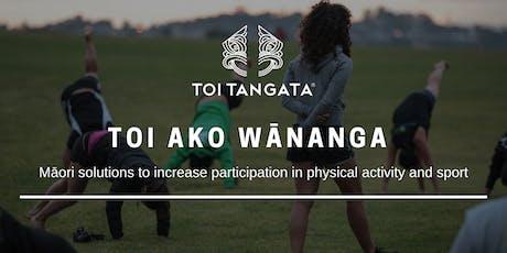 Toi Ako Wānanga tickets