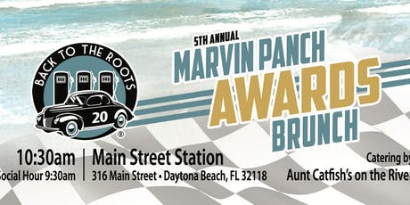 Marvin Panch Awards Brunch with Back to the Roots at Main Street Station tickets