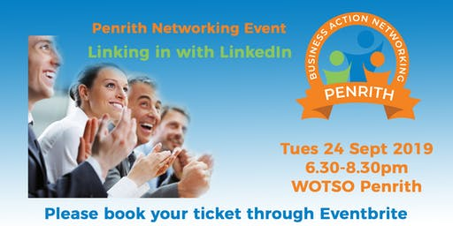 Business Action Networking Penrith - Linking in with LinkedIn