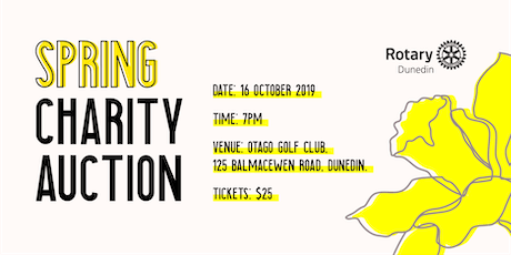 Spring Charity Auction - Rotary Dunedin tickets