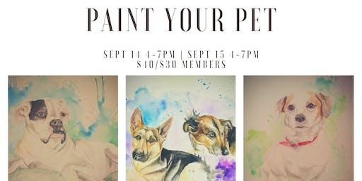 Watercolors 105: PETS!!