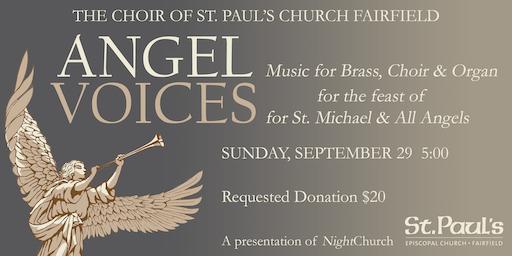 ANGEL VOICES - Music for Brass, Choir & Organ