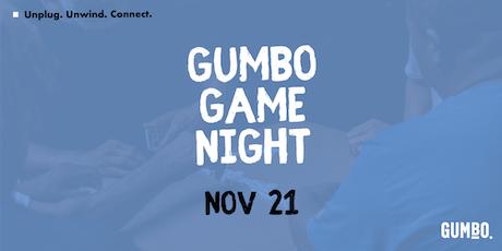 Gumbo Game Night tickets