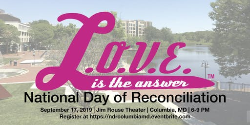 National Day Of Reconciliation - Columbia, MD