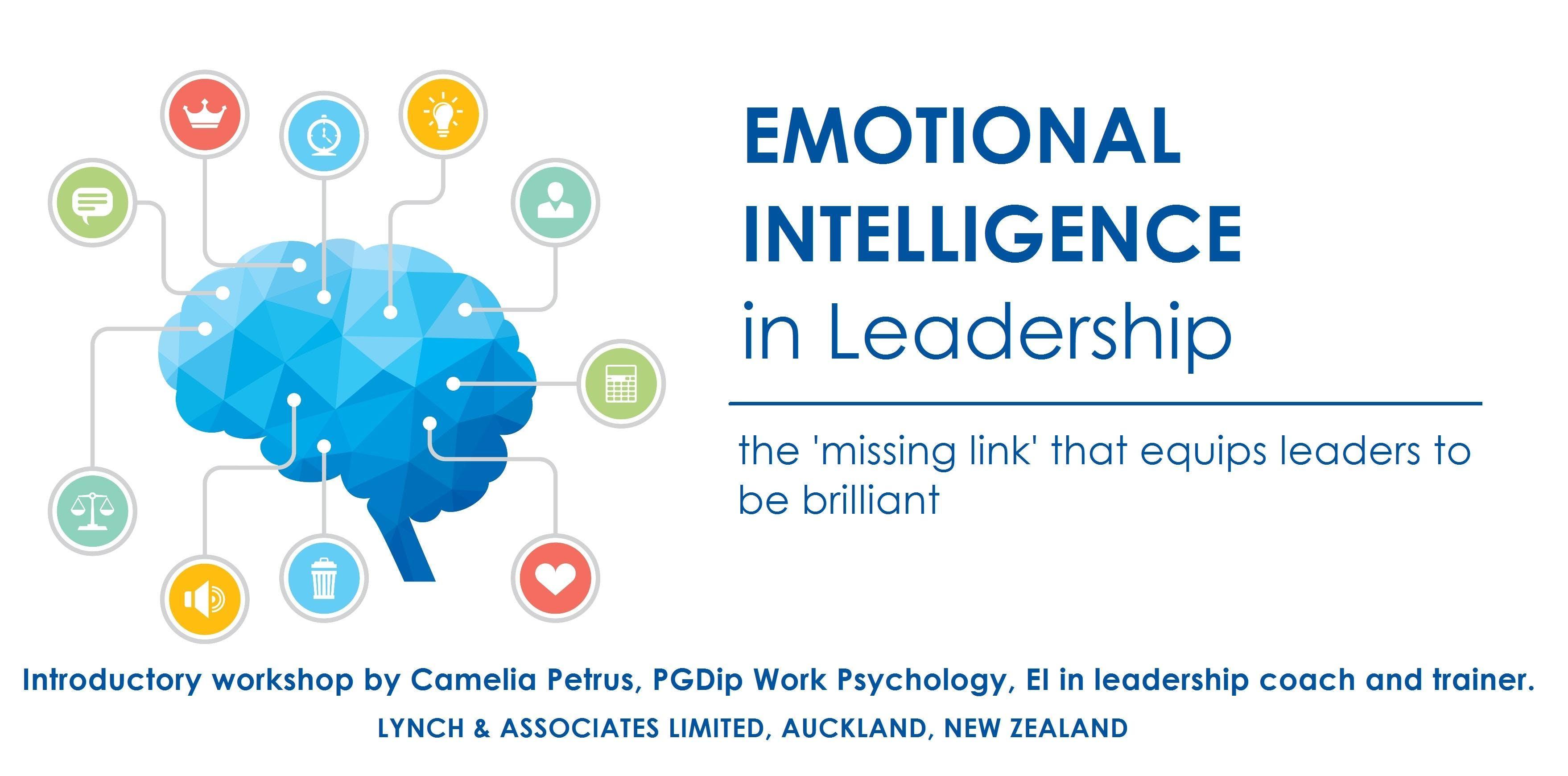 Emotional Intelligence in Leadership 2019