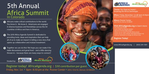 5th Annual Africa Summit in Colorado