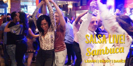 Sambuca Live! Free Salsa & Bachata Social Party in Downtown tickets