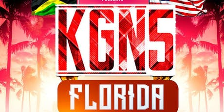 Kingston 5 FLORIDA tickets